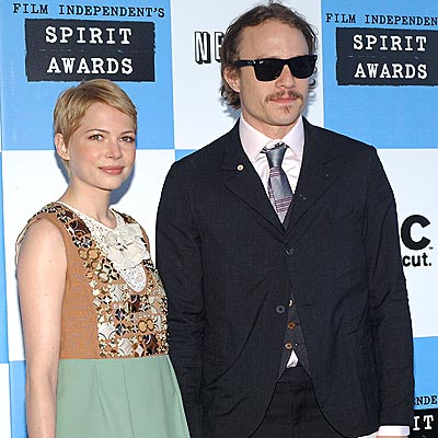 MICHELLE & HEATH photo | Heath Ledger, Michelle Williams