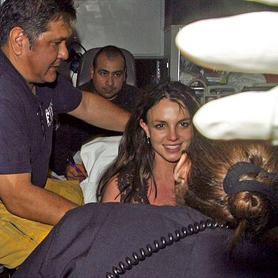 EMERGENCY TRANSPORT photo | Britney Spears