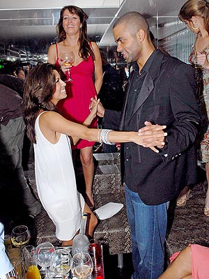 HIS-AND-HERS NIGHT photo | Eva Longoria, Tony Parker