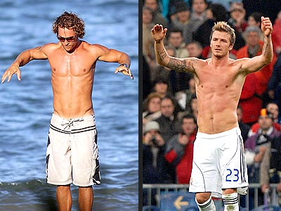 MATTHEW VS. DAVID photo | David Beckham, Matthew McConaughey