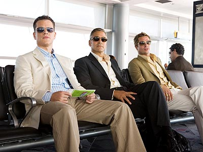 ALL GROWN UP photo | Brad Pitt, George Clooney, Matt Damon