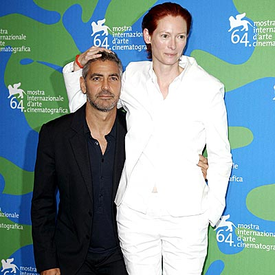 GEORGE & TILDA  photo | George Clooney, Tilda Swinton