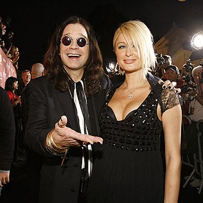 OZZY & PARIS photo | Ozzy Osbourne, Paris Hilton