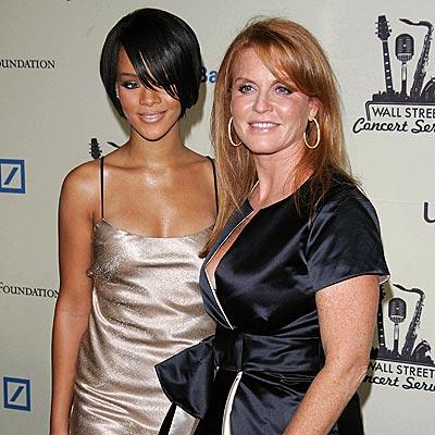 RIHANNA & FERGIE  photo | Rihanna, Sarah Ferguson