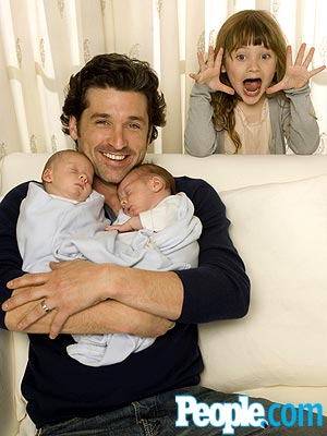 THREE IS ENOUGH photo | Patrick Dempsey