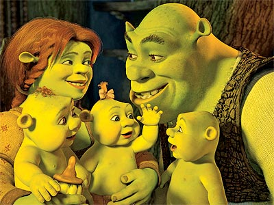 babies everywhere shrek 