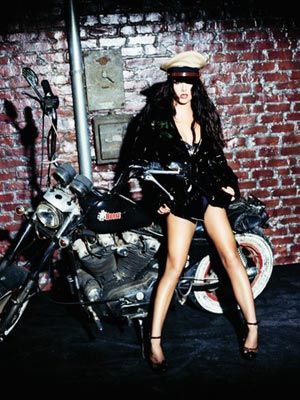 FRIDAY: BIKER CHICK! photo | Britney Spears