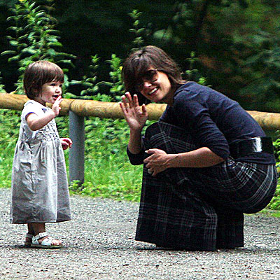 HELLO, MOMMY! photo | Katie Holmes