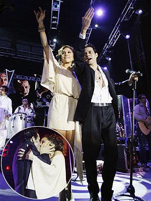A VOCAL SUPPORTER  photo | Jennifer Lopez, Marc Anthony