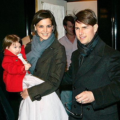 NEW YORK MINUTE photo | Katie Holmes, Suri Cruise, Tom Cruise