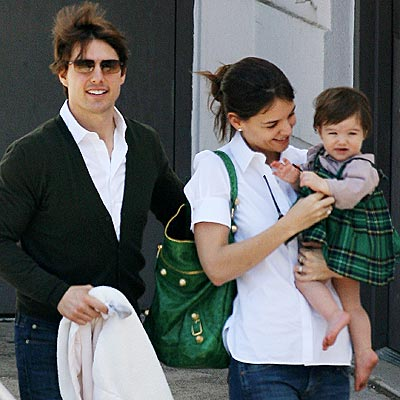 WILD IRISH ROSE photo | Katie Holmes, Suri Cruise, Tom Cruise