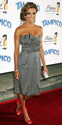 TREND TO KEEP: POLKA DOTS  photo | Eva Longoria