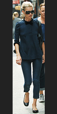 TREND TO KEEP: BALLET FLATS  photo | Kate Moss
