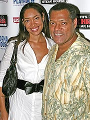 Laurence Fishburne, Gina Torres Expecting | Laurence Fishburne