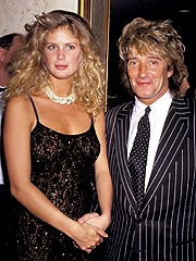 Rod Stewart, Rachel Hunter's Divorce Finalized