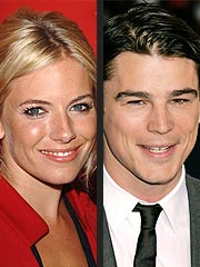 Sienna Miller and Josh Hartnett Get Cozy