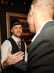 Justin & K-Fed's Red-Carpet Run-In | Justin Timberlake