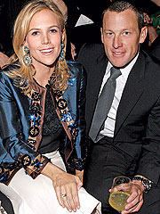 Cozy Couple: Lance Armstrong & Tory Burch