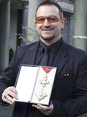Bono Made Knight of the British Empire