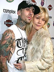 Shanna Trying to Lift Travis's Spirits | Shanna Moakler, Travis Barker
