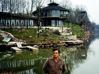 Johnny Cash's Former Home Burns Down| Johnny Cash