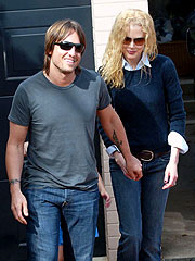 Keith Urban Helps Nicole Kidman Celebrate Her 40th B-Day