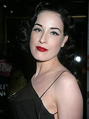 Dita Von Teese Backs PETA – But Keeps Her Furs