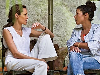 Angelina Jolie: 'I Was Nervous' About Playing Mariane Pearl| Angelina Jolie