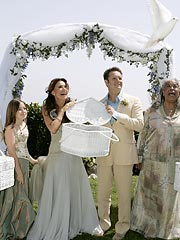 Mark Burnett, Roma Downey Marry in Malibu