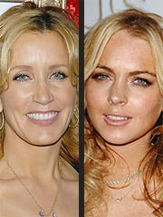 Felicity Huffman Calls Lindsay Lohan 'Brilliant' | Felicity Huffman, Lindsay Lohan