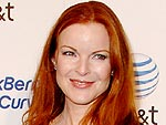 Inside Marcia Cross's Sweet Lunch with Her Twins | Marcia Cross