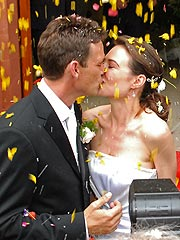 Claire Forlani, Dougray Scott Get Married | Claire Forlani, Dougray Scott