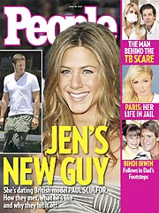 Jennifer Aniston's Mystery Man Revealed!| Jennifer Aniston