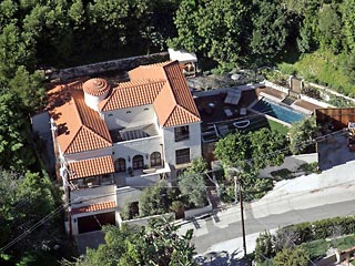 Paris Hilton house in
