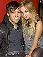 Pete Wentz: It's 'Crazy' Kissing Best Friend Ashlee Simpson