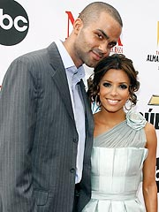 Eva Longoria and Tony Parker Make It Legal