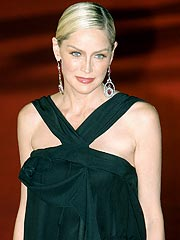 Sharon Stone Juggles Fundraising, Motherhood