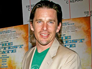 Ethan Hawke's Built-In Babysitter: His Daughter