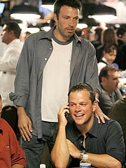 Matt Damon, Ben Affleck Play Poker for Africa| Ben Affleck, Matt Damon