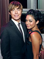 High School Musical's Zac Efron Hits Hairspray Premiere with Vanessa Hudgens
