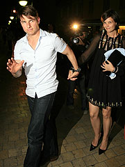 Tom Cruise & Katie Holmes Face Photo Frenzy in Saint-Tropez