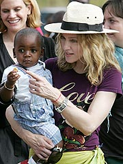 Madonna's Adoption of Malawi Boy Moving Forward