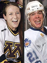 Hockey Stars Krissy Wendell and John Pohl Wed