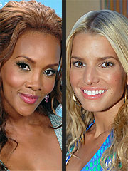 Vivica A. Fox Says Jessica 'Diva' Rumors Are 'Lies' | Jessica Simpson, Vivica A. Fox