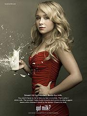 Hayden Panettiere Scores a 'Got Milk?' Ad