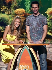 Jessica Alba Dane Cook Teen Choice Awards