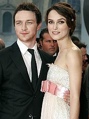 James McAvoy Limits Lovemaking with Keira Knightley