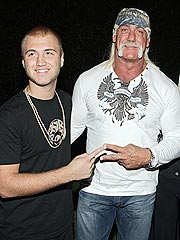 Nick and Hulk Hogan