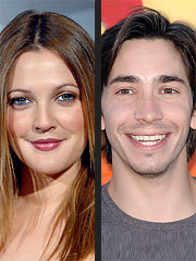 Drew Barrymore and Justin Long Split