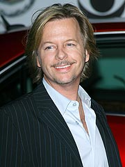 David Spade Donates $25,000 to Slain Officer's Family | David Spade